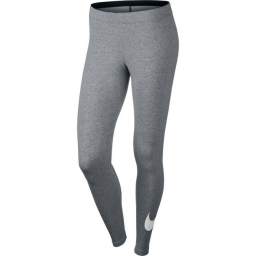 Леггинсы Nike Sportswear Legging Dark Grey White