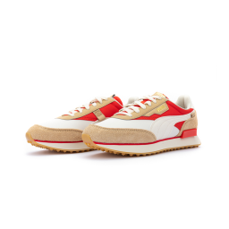 Кроссовки Puma Rider Game On Whisper White Pebble Red